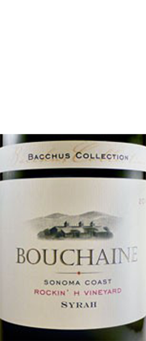 Bouchaine Rockin' H Vineyard Sonoma Coast Syrah | Red Wine