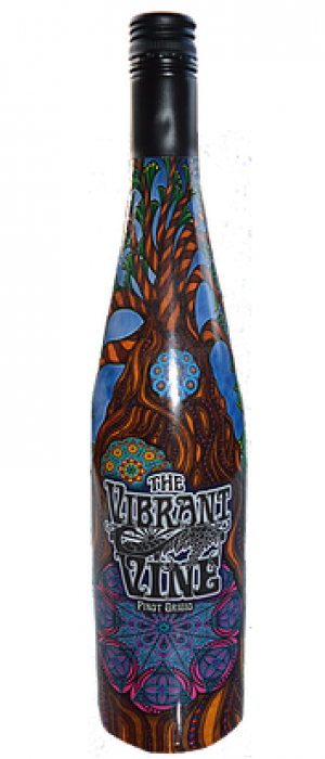 The Vibrant Vine 2017 Pinot Gris (Grigio) Bottle