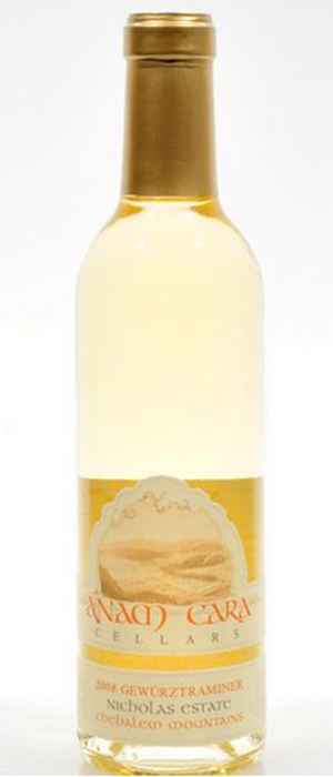 Anam Cara Cellars 2012 Gewürztraminer Bottle
