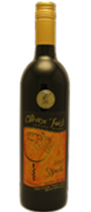 Oliver Twist Estate Winery 2010 Syrah (Shiraz) Bottle