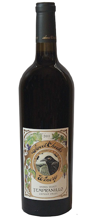 Sweet Cheeks Winery 2011 Tempranillo Bottle