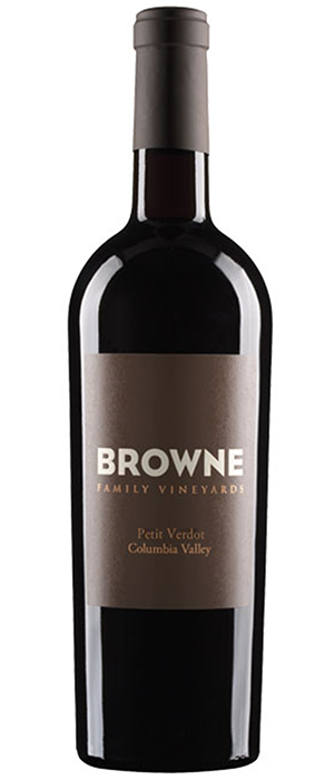 Browne Family Vineyards 2011 Petit Verdot Bottle