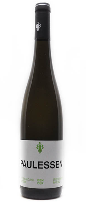 Andreas Bender 2012 Paulessen Riesling Bottle