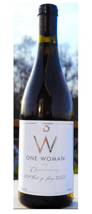 One Woman Wines and Vineyards Chardonnay Bottle