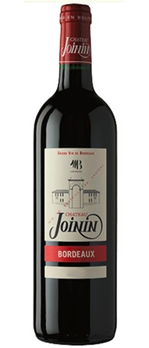 Chateau Joinin 2010 Merlot Bottle