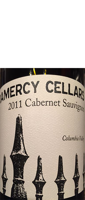 Gramercy Cellars 2011 Cabernet Sauvignon Bottle