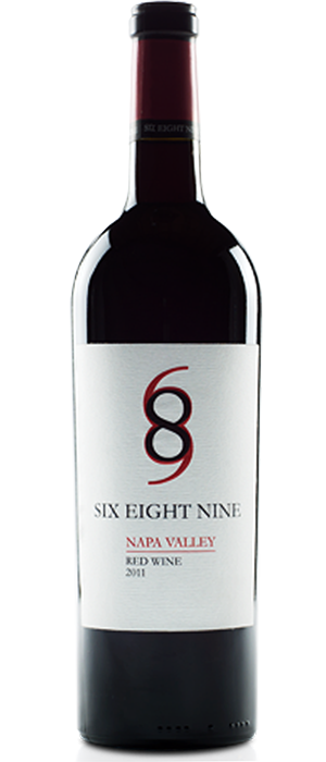 SIX EIGHT NINE 2011 Blend | Red Wine