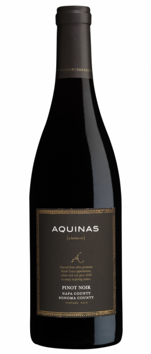 Aquinas 2013 Pinot Noir Bottle