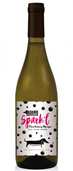 Adamo Estate Winery 2016 Spark'l Chardonnay Musqué | White Wine