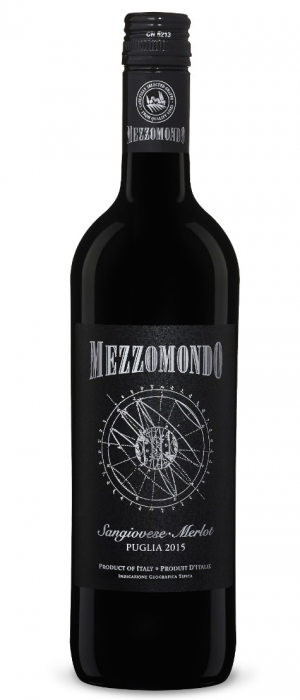 Mezzomondo 2015 Sangiovese Merlot | Red Wine