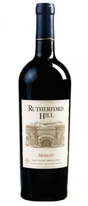 Rutherford Hill Winery 2012 Merlot Bottle