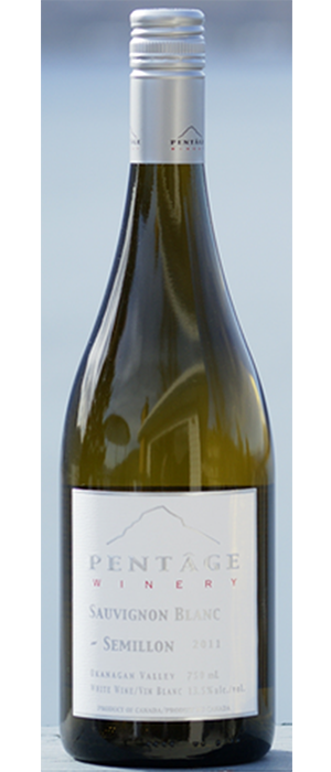 Pentâge Winery 2012 Sauvignon Blanc blend Bottle