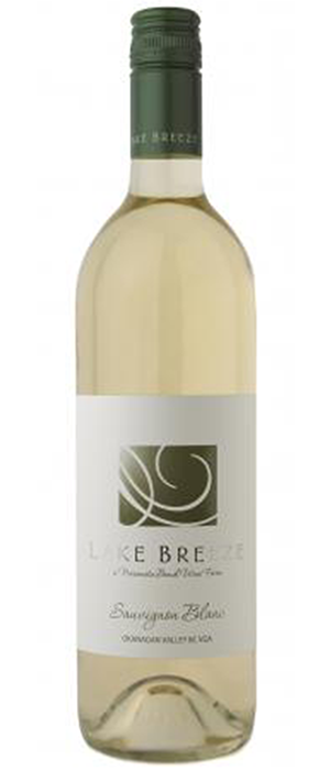 Lake Breeze Seven Poplars 2013 Sauvignon Blanc Bottle
