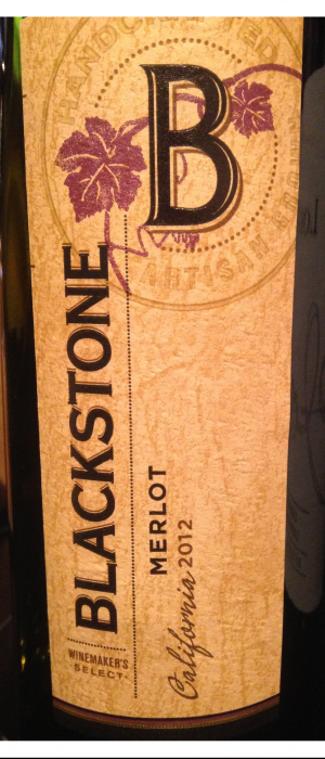 Blackstone Winery 2012 Merlot | Red Wine