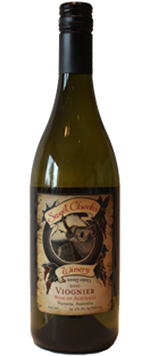 Sweet Cheeks Winery 2010 Viognier Bottle