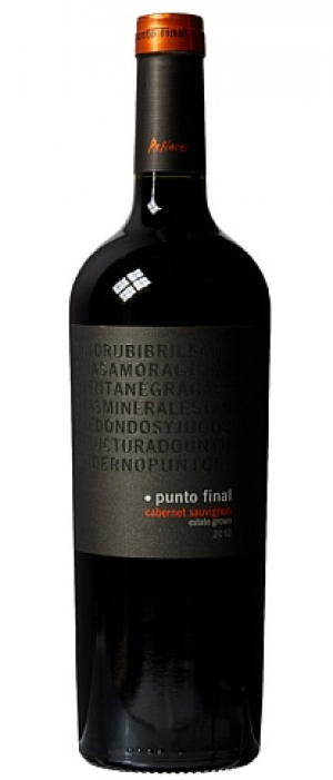 Punto Final Cabernet Sauvignon 2012 Bottle