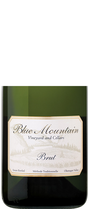 Blue Mountain Vineyard and Cellars 2012 Sparkling Wine Bottle