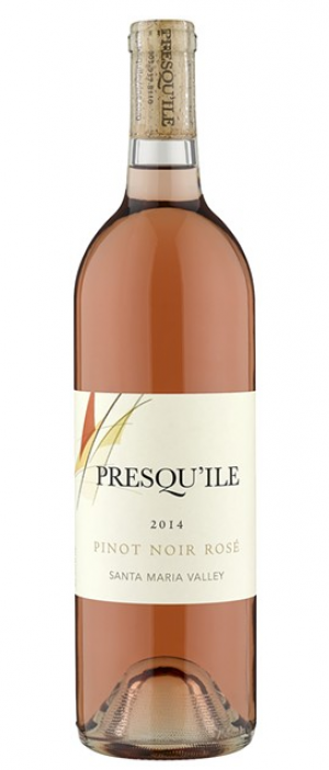 Presqu'ile Winery Pinot Noir Rosé 2015 Bottle