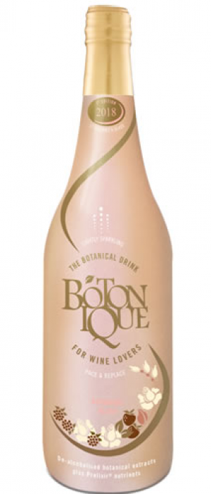 Botonique Botanical Drink 2018 Blush Bottle