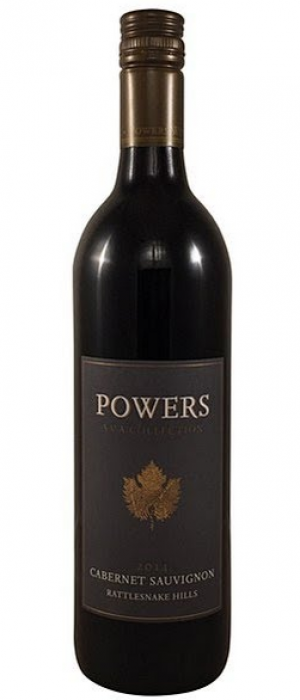 Powers Winery AVA Collection Rattlesnake Hills AVA Cabernet Sauvignon 2014 Bottle