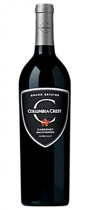 Columbia Crest Grand Estates 2015 Cabernet Sauvignon Bottle