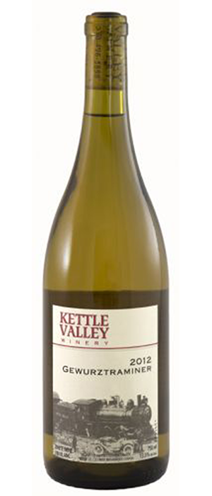 Kettle Valley Winery 2012 Gewürztraminer Bottle