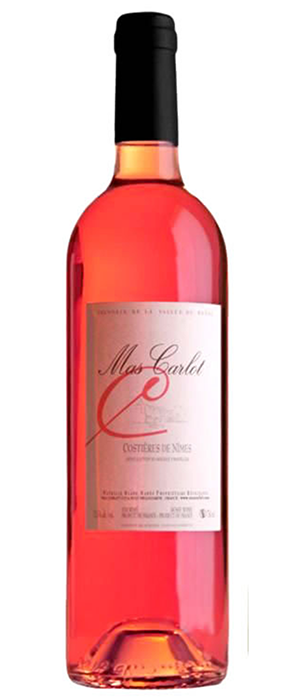 Mas Carlot Rose Bottle