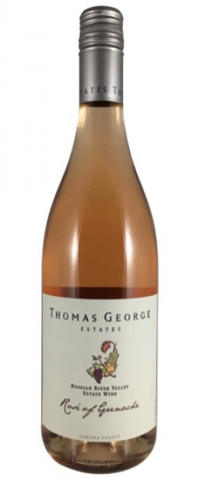 Thomas George Estates 2015 Rosé of Grenache Bottle