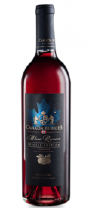 Canada Berries Blue Queen Special Edition Bottle