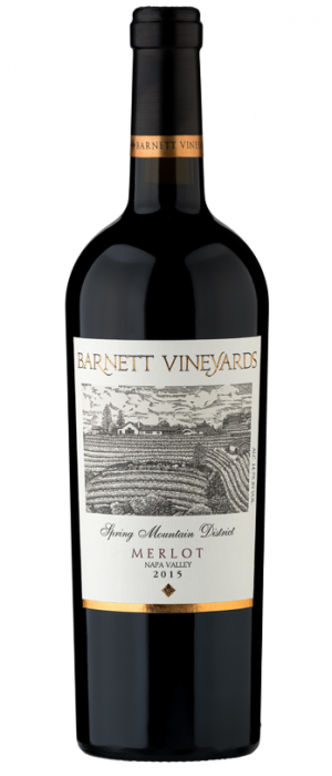 Barnett Vineyards 2015 Merlot | Red Wine