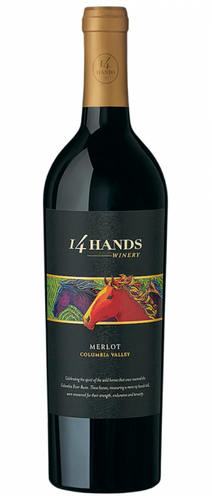 14 Hands Winery 2014 Merlot | Red Wine