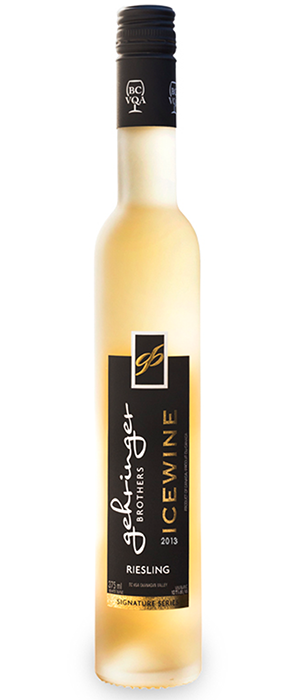 Gehringer Brothers 2013 Riesling Icewine Bottle