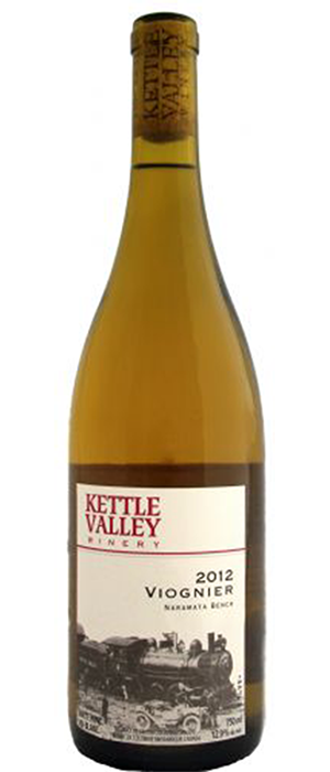 Kettle Valley Winery 2012 Viognier Bottle