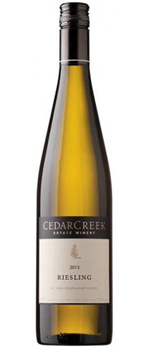 CedarCreek Estate Winery 2013 Riesling | White Wine