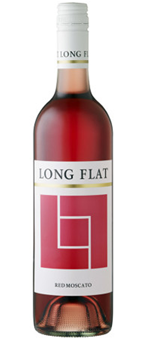 Long Flat 2012 Red Moscato Bottle