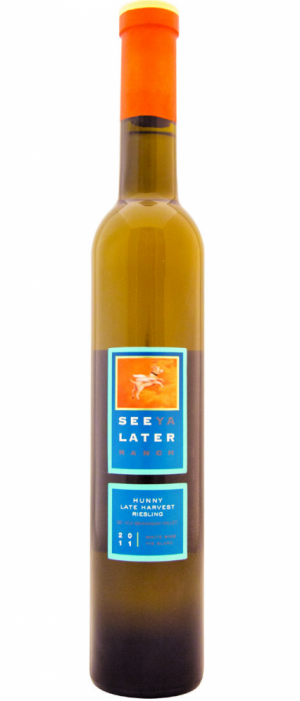 See Ya Later Ranch Hunny Late Harvest Riesling 2011 Bottle