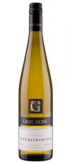 Gray Monk Estate Winery 2016 Gewürztraminer Bottle