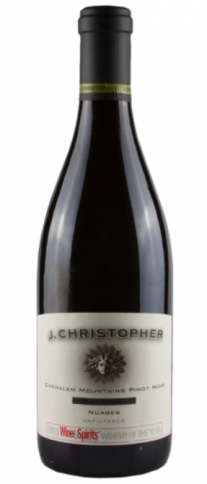 J Christopher Wines 2014 Nuages Pinot Noir | Red Wine