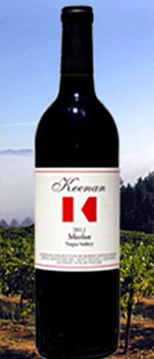 Robert Keenan Winery 2012 Merlot Bottle
