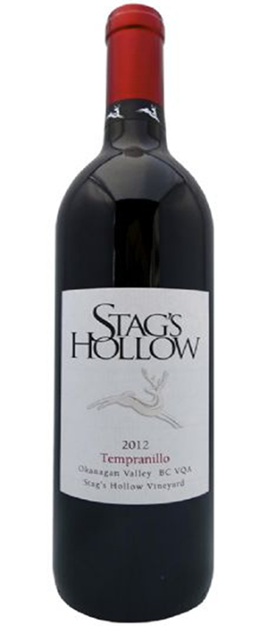 Stag's Hollow 2012 Tempranillo Bottle