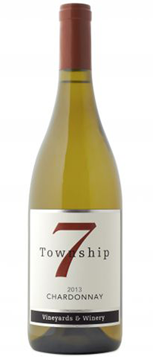 Township 7 Vineyards & Winery 2013 Chardonnay Bottle