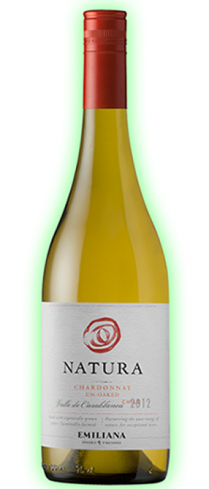 Emiliana Natura Chardonnay Un-Oaked Bottle