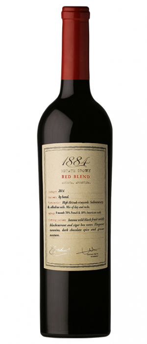 1884 Estate Grown 2014 Red Blend | Red Wine