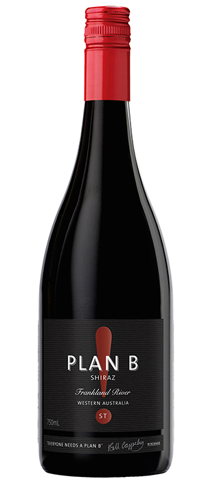 Plan B! Wines ST 2011 Shiraz Bottle