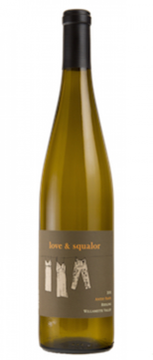 Love & Squalor Antsy Pants 2013 Riesling Bottle
