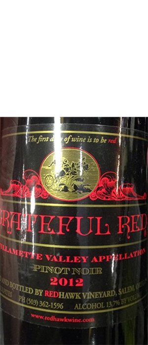 Grateful Red Pinot Noir Bottle