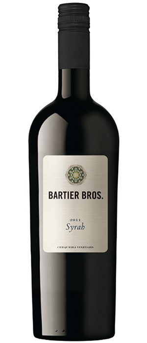 Bartier Bros. 2011 Syrah (Shiraz) | Red Wine