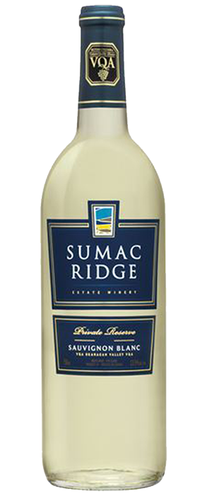 Sumac Ridge Estate Winery 2011 Sauvignon Blanc Bottle
