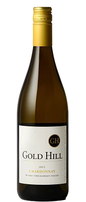 Gold Hill 2013 Chardonnay Bottle