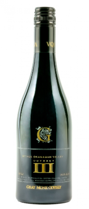 Gray Monk Estate Winery Odyssey III Port-Style Bottle